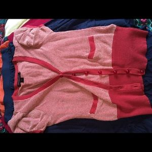 Betsy Johnson cardigan sweater short sleeve